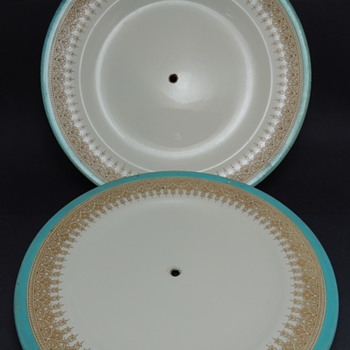 Royal Worcester Vitreous Tiered Plates?