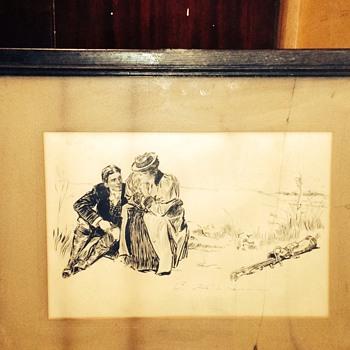 Man Ana lady - Visual Art