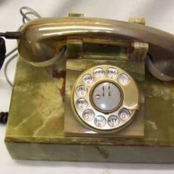Marble Telephones From Italy
