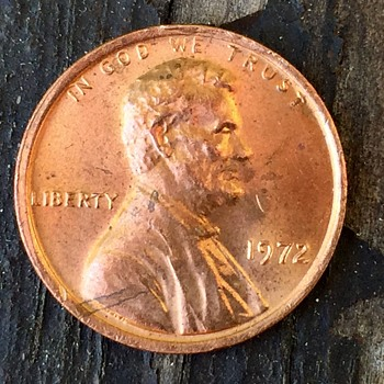 1972 Penny.... why does it look gold?