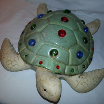 Tiffany-Style Turtle Lamp - Lamps