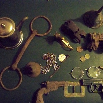 Metal Detector Finds (some) 2011