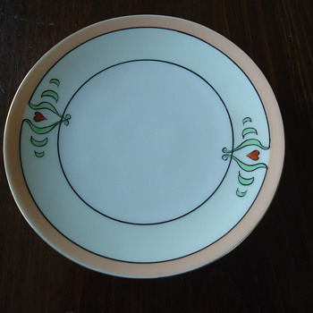 Bavarian China Plate - China and Dinnerware