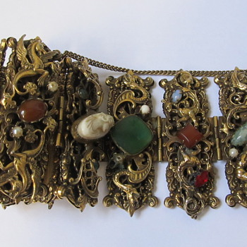 Any ideas as to designer, unmarked. - Costume Jewelry