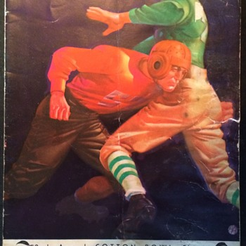 1938 Cotton Bowl Clasic RICE vs COLORADO Program