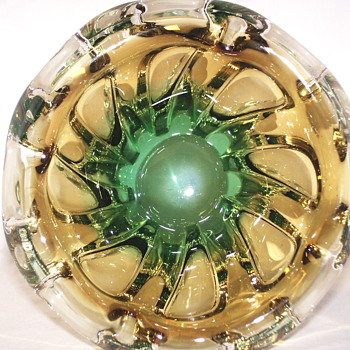 "Glass Bowl""AKA Asthray""XX century"