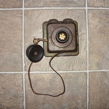 early 1900s intercom/ phone
