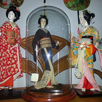 VINTAGE GEISHAS - Asian