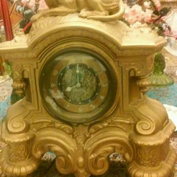 Westclox,LA SALLE  mantle clock