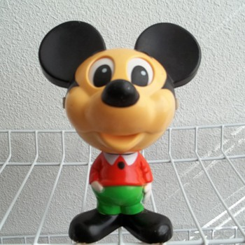 1976 Mattel, Talking Mickey Mouse. - Games
