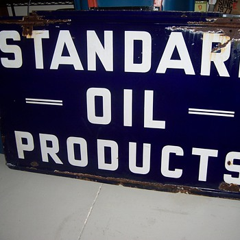 Standard Oil Products Signs & Conoco Sign