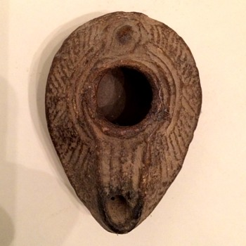 Late Roman Oil Lamp