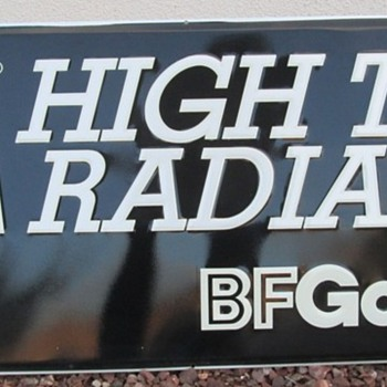 BF Goodrich Sign - Advertising