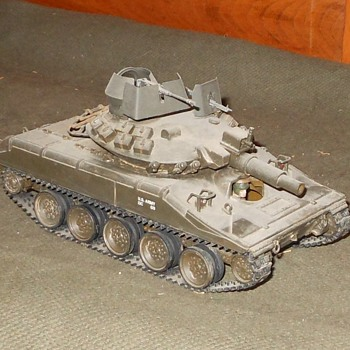 M551 Sheridan Light Tank Vietnam Version 1/35 Scale - Military and Wartime