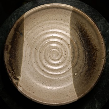 Beautiful Mid-century Stoneware Bowl