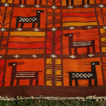 Native American Rug   Identity unknown????