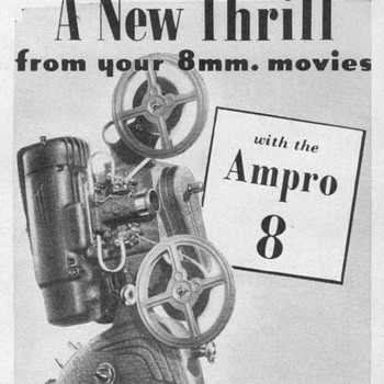 1948 - Ampro Movie Projector Advertisement - Advertising
