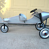 Antique pedal car airplane