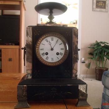 Japy Freres mantel clock