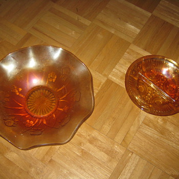 Think its marigold glass - Glassware
