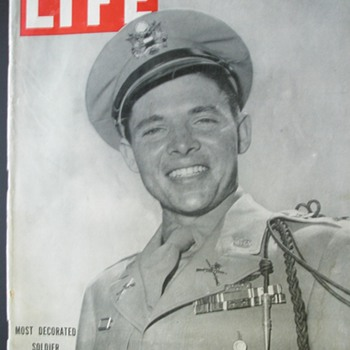 The Most Decorated Combat Soldier**** Life Magazine July 16, 1945