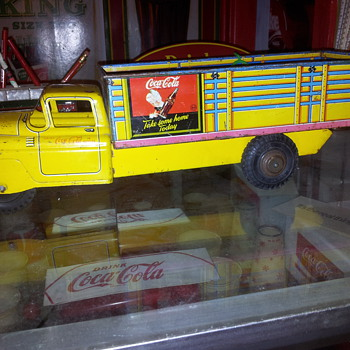 1950's Marx Toy Trucks - Coca-Cola