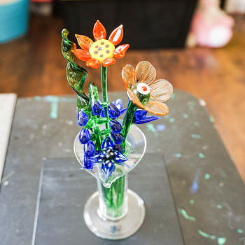 Glass Flowers - Art Glass