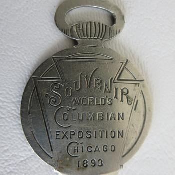 Souvenir World's Columbian Exposition Chicago 1893 - Advertising