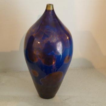 Peter Ilsley Crystalline Glaze Vase - Art Pottery