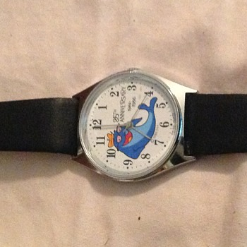 This was different to me a Charlie tuna wrist watch 1986