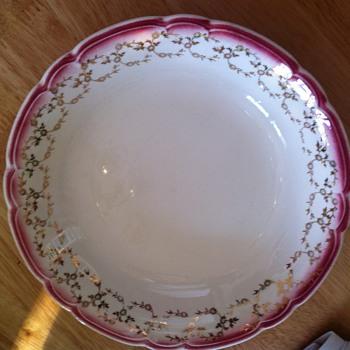 Mystery China Pattern- Made in Sebring ??? 