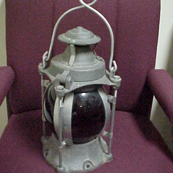Armspear Railroad Lantern - Railroadiana