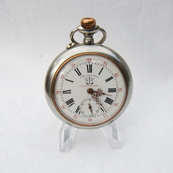 F BACHSMCHID Patent 27553. Swiss Pocket Watch . Information needed.