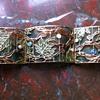 Art nouveau plique a jour choker, Janvier Quercia.