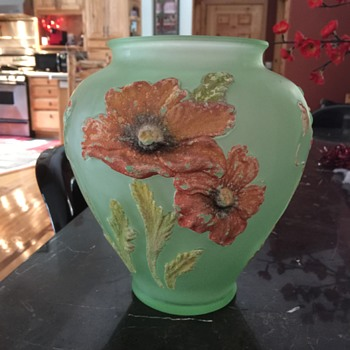 Please Help Identify-Depression Glass Vase