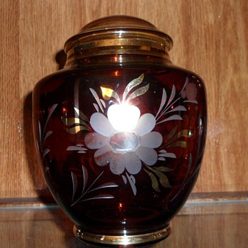 PROBABLE VINTAGE EGERMANN VASE (possibly maybe?) - Art Glass