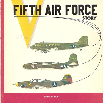 The Fifth Air Force Book World War Two