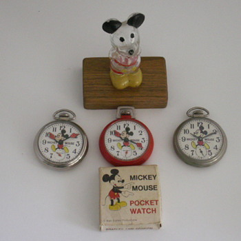 Mickey Mouse - Pocket Watches
