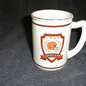 1946 Cleveland Mug - Football