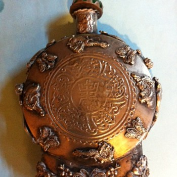Snuff Bottle sterling silver fromChina 