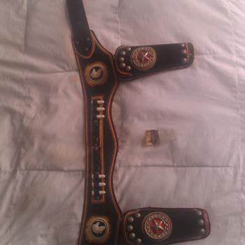 Vintage Paladin Cap Gun Holster