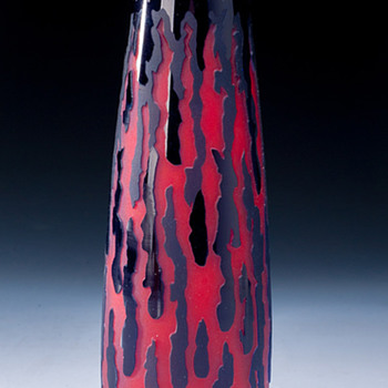 Denji Takeuchi (Japan) Vase 18cm 1990s - Art Glass