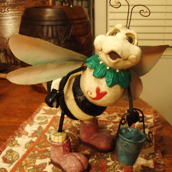 Garden Bee, from Garage sale, $2.50 - Animals