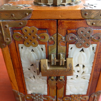 Antique Asian Jewelry chest