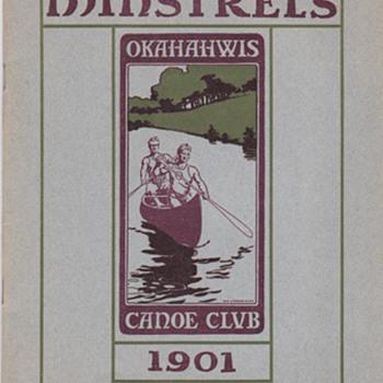 Minstrels Show 1901 print - Posters and Prints