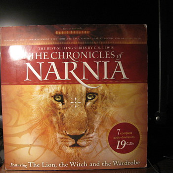 Narnia  19 C.D.s Radio Theatre - Music