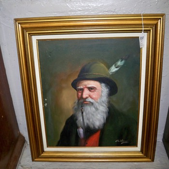 David Pelbam oil painting