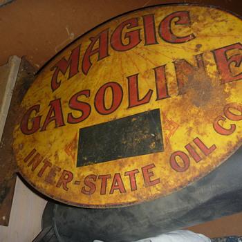 Oil Business Sign - Petroliana
