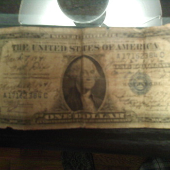 silver certificate - US Paper Money