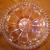 "Armorial Crystal 7"" dish ""Frangas non Flectes"" Thou mayst Break, not Bend Me"